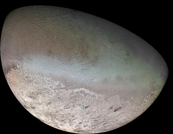 Triton, satellite naturel de Neptune