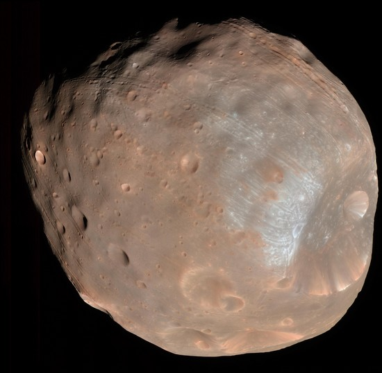 Phobos, satellite naturel de Mars